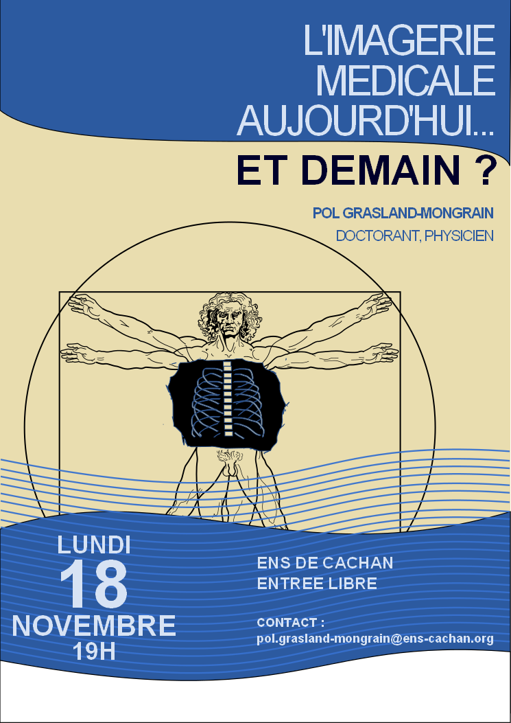 Affiche du séminaire à l'ENS Cachan